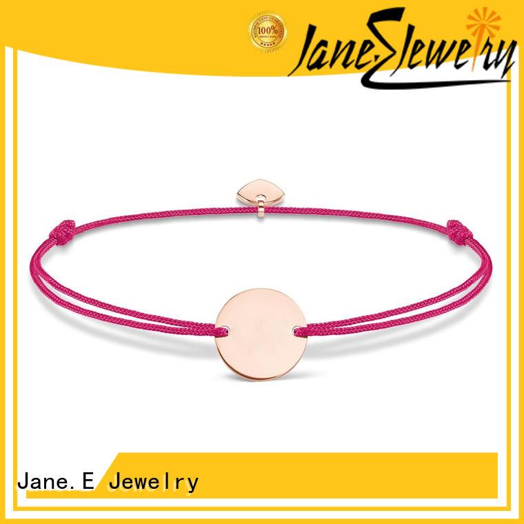 JaneE fashion titanium ring cores popular design for engagement