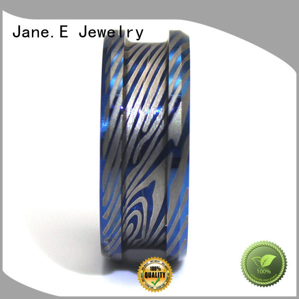 JaneE traditional tungsten ring exquisite for gift