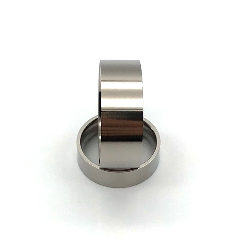 JaneE for wood crafts custom black titanium rings wholesale for wedding-1