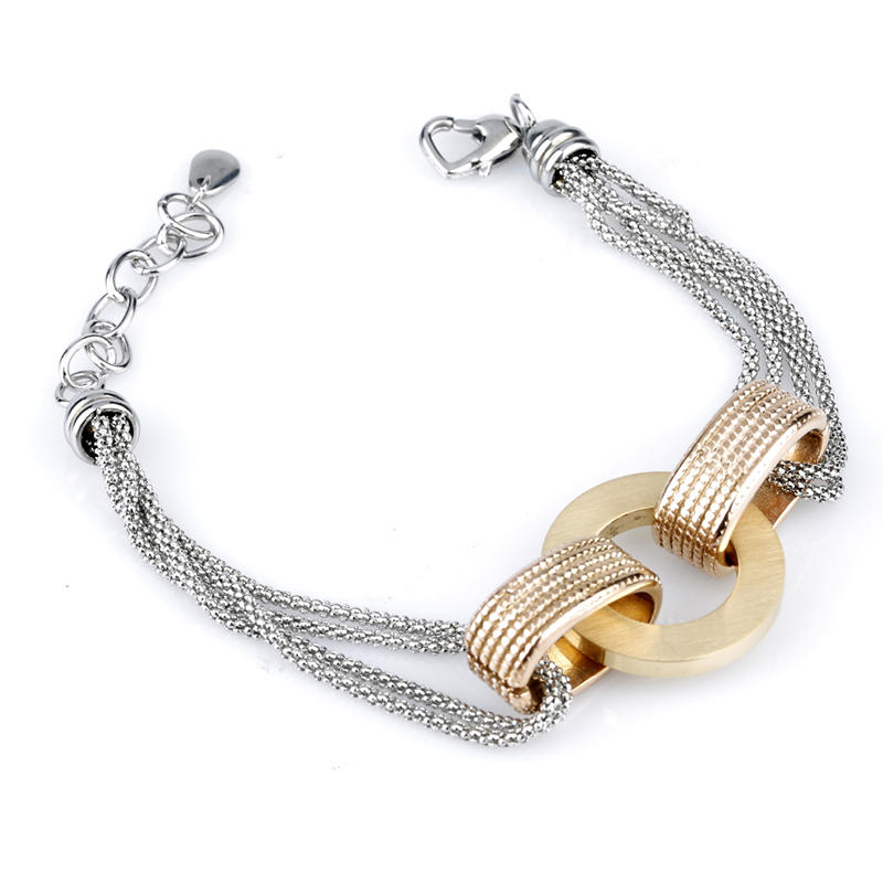 Custom Made Stainless Steel Jewelry 316L Stainless Steel Chain Bracelet for women