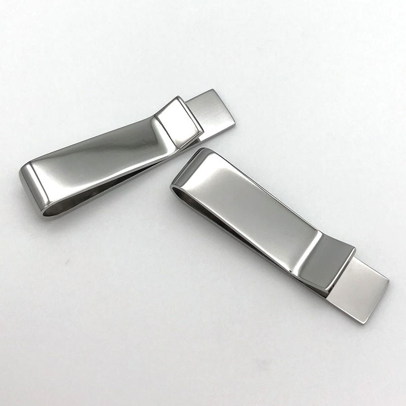Custom Engraved Tie Clip 316L Stainless Steel Tie bar for Children