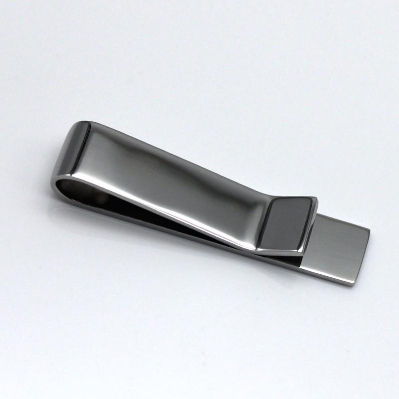 JaneE laser engraving logo personalised tie clip wholesale for children