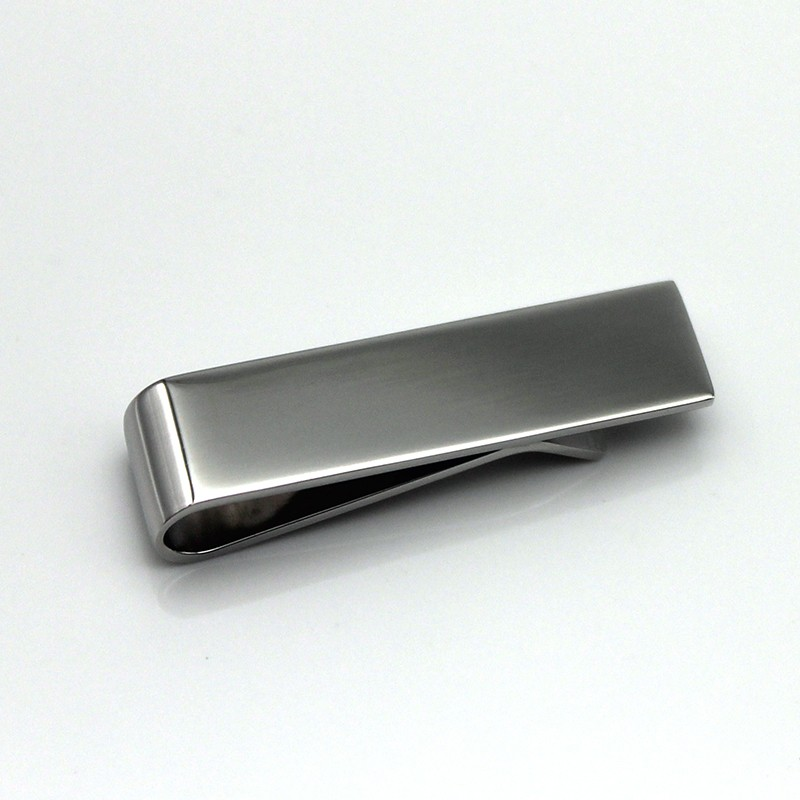 OEM stainless steel tie clip 316l wholesale for men-3