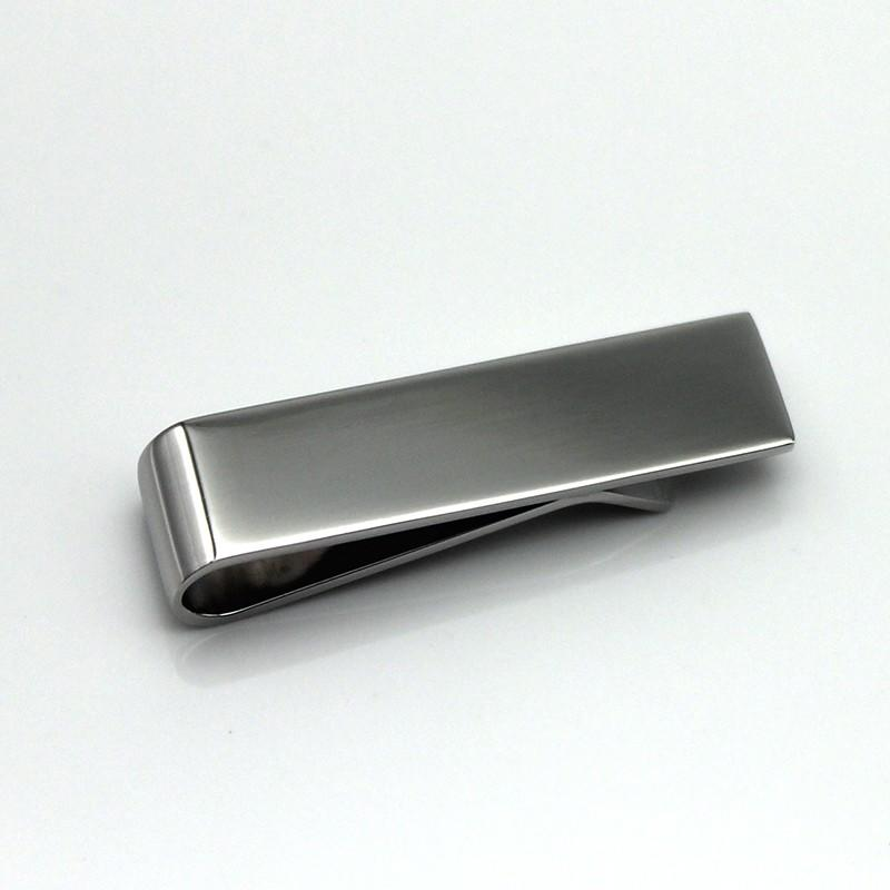 OEM stainless steel tie clip 316l wholesale for men
