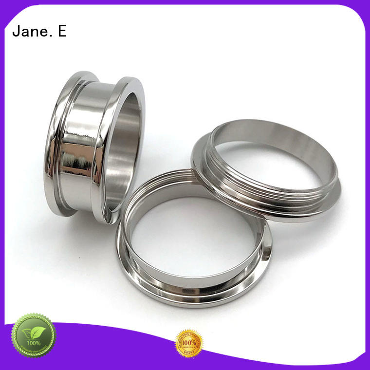 JaneE scratched resistant titanium engagement rings popular design for handcrafts works