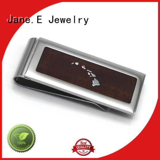 JaneE personalized personalized money clip unique for men's wallet