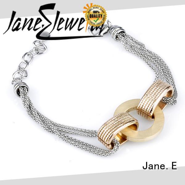 popular women's stainless steel bracelets manual polishing wholesale for gifts
