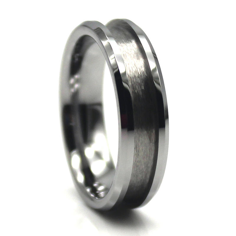nylon custom stainless steel rings silver for decoration JaneE-2