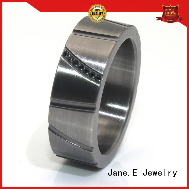 Stainless steel ring core titanium ring cores all size for wedding JaneE