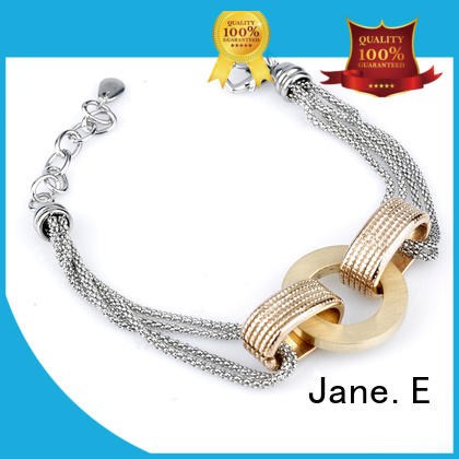 JaneE 316l steel bracelet wholesale for women