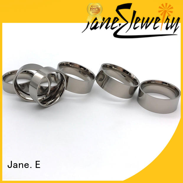 JaneE customized 8mm tungsten mens ring wood crafts for gift