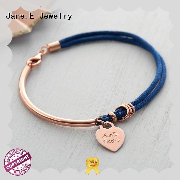 JaneE nylon rope bracelet exquisite for anniversary