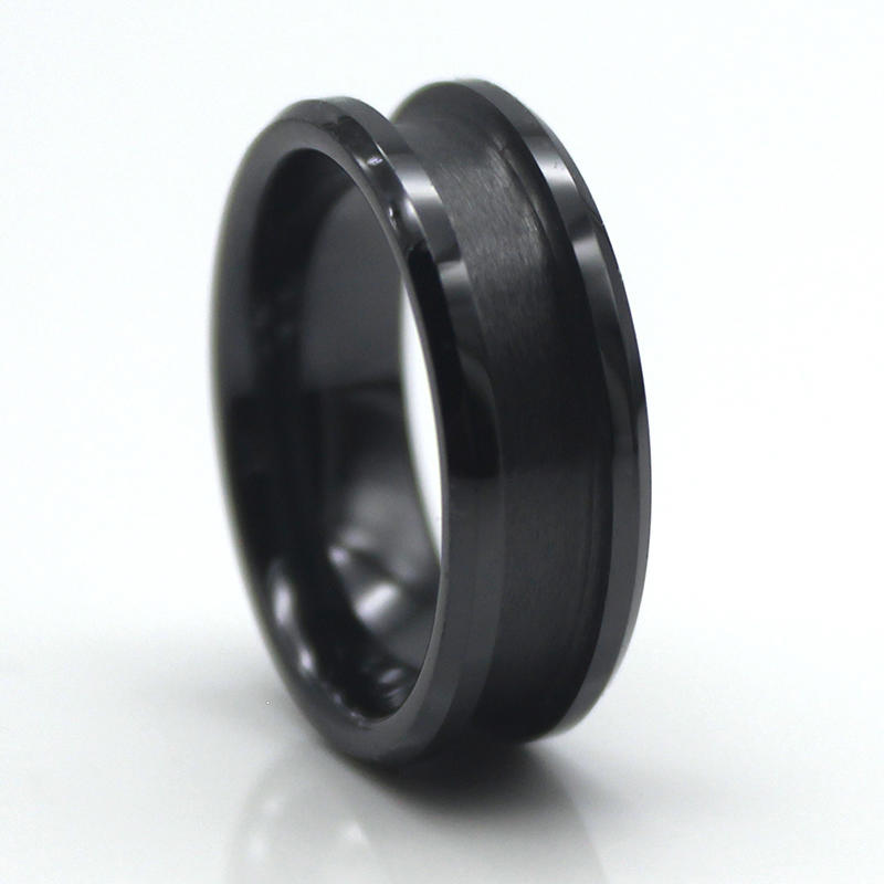 JaneE customized ceramic mens ring hot selling supplier-3