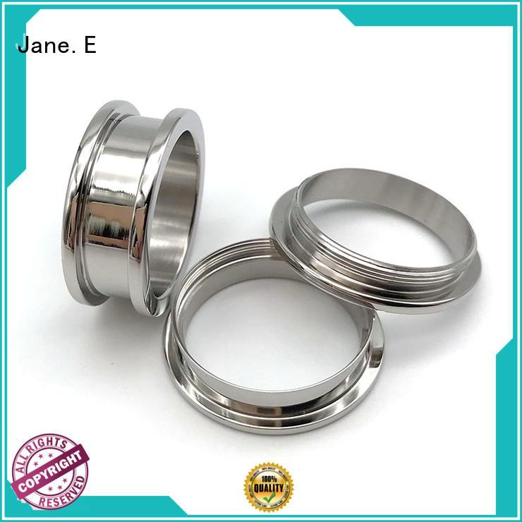 titanium ring core white ceramic for women JaneE