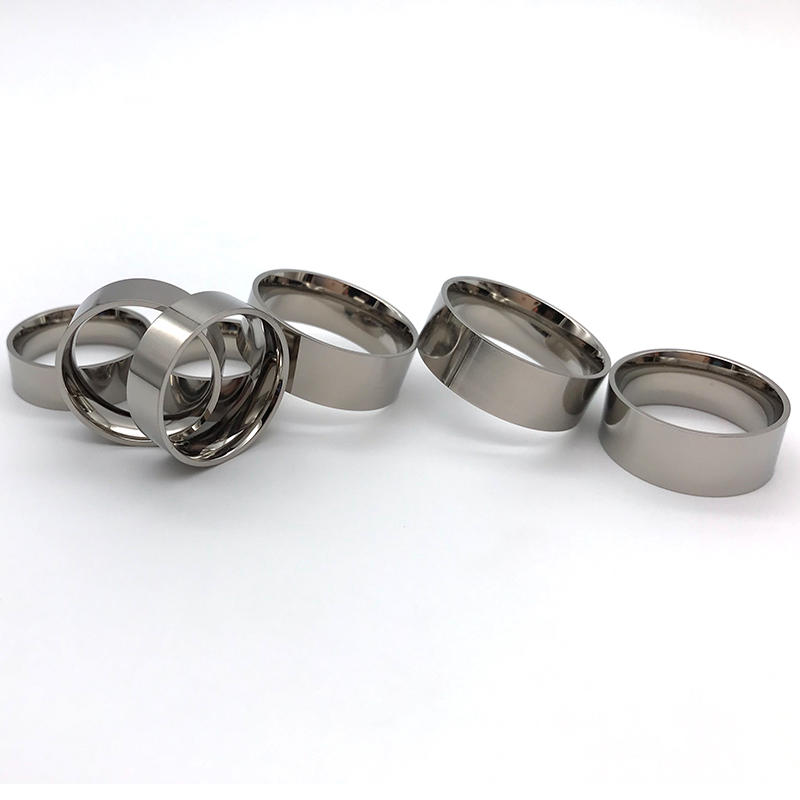 JaneE fashion stainless steel ring core matt for wedding-3