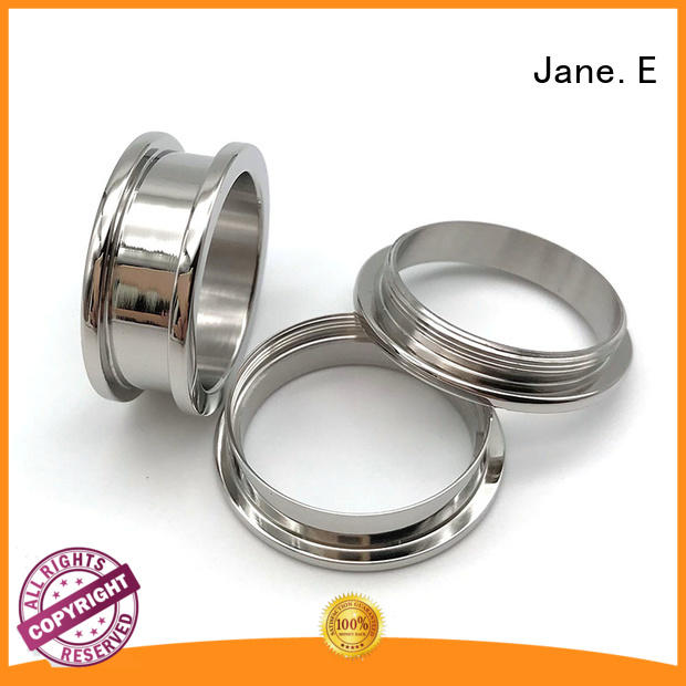 hypoallergenic men's titanium wedding band 8mm threads wholesale for engagement