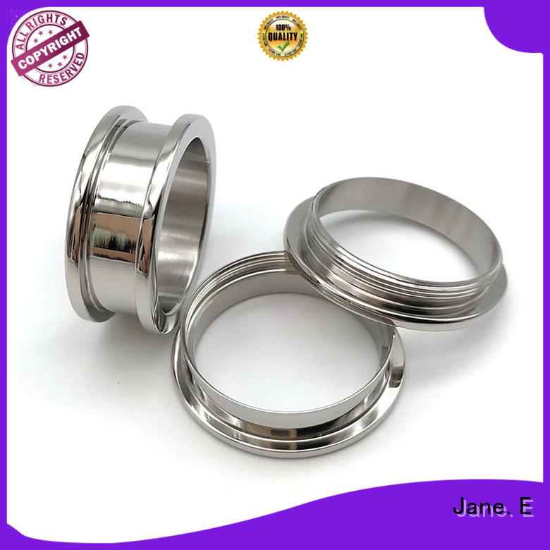 JaneE high quality titanium engagement rings matt for men
