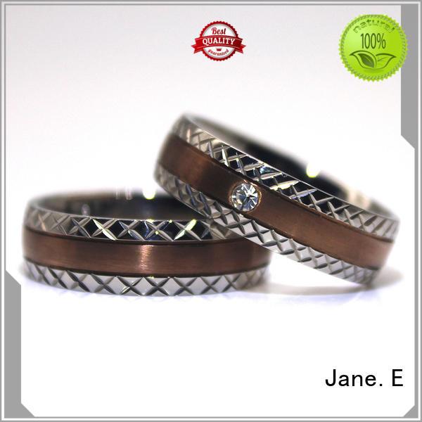 high quality titanium rings for men tungsten popular design for gift
