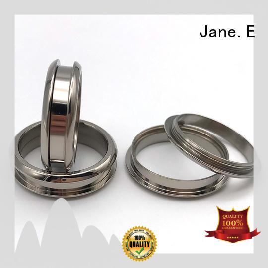 brown white ceramic ring matt for women JaneE
