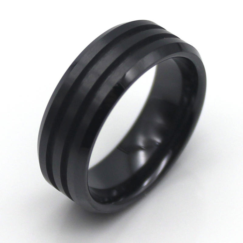 JaneE customized ceramic mens ring hot selling supplier-2