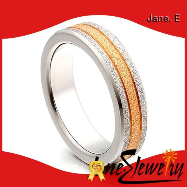 silver mens titanium wedding rings 316l stainless steel simple for engagement