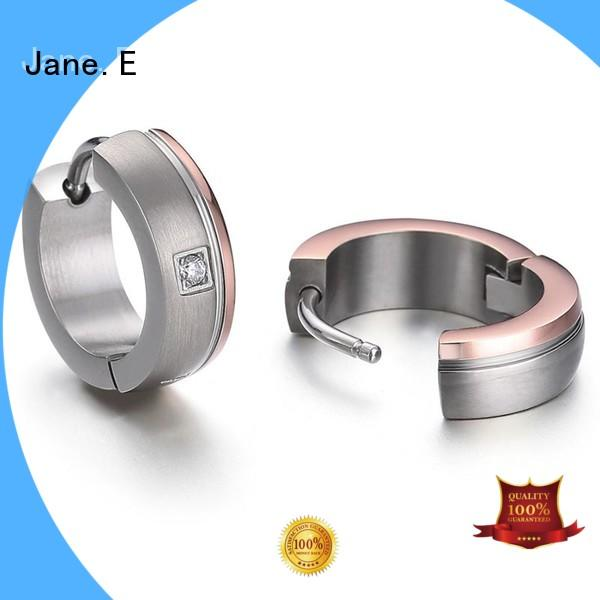 traditional titanium hoop earrings for sensitive ears classic style for women