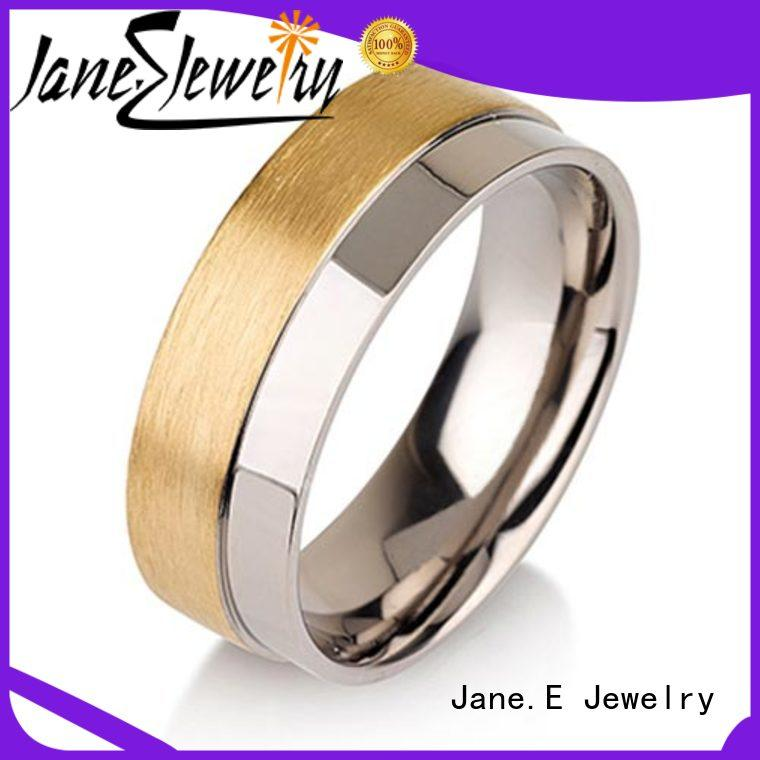 yellow goldtitanium ring core14k yellow goldfactory direct for engagement