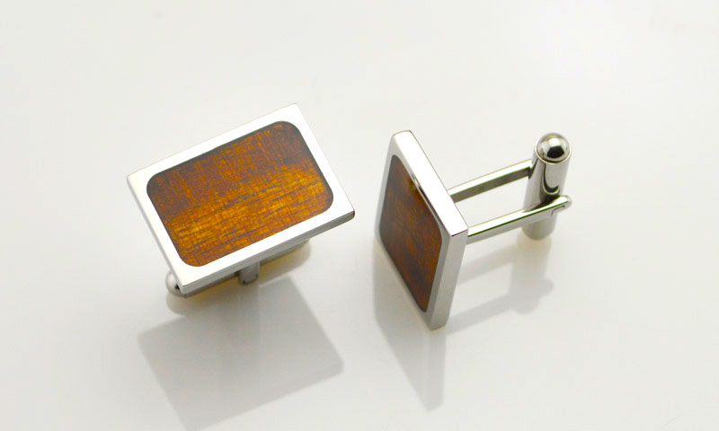 JaneE laser engraved engrave cufflinks fashion for gifts-5