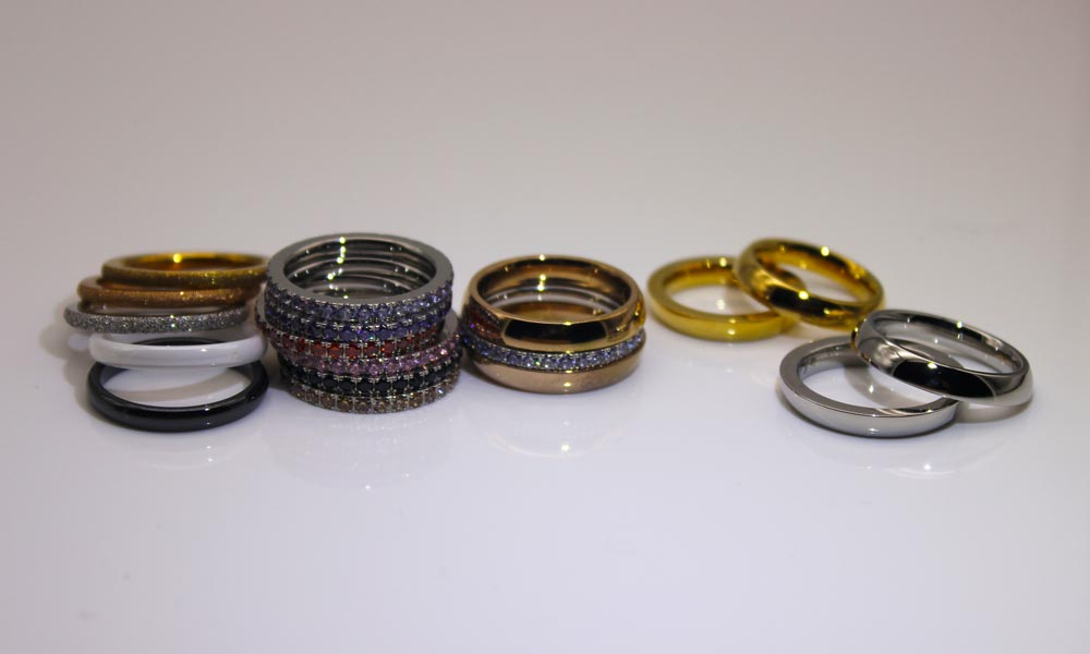 factory direct stainless steel ring blanks black top quality for weddings-9