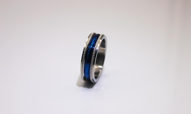 JaneE factory direct mens steel rings comfortable for weddings-2
