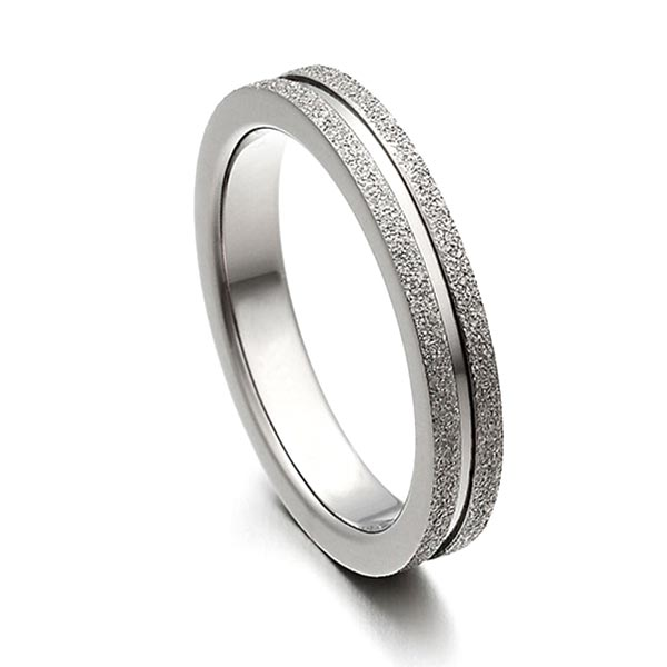 JaneE yellow gold titanium wedding rings factory direct for anniversary-7