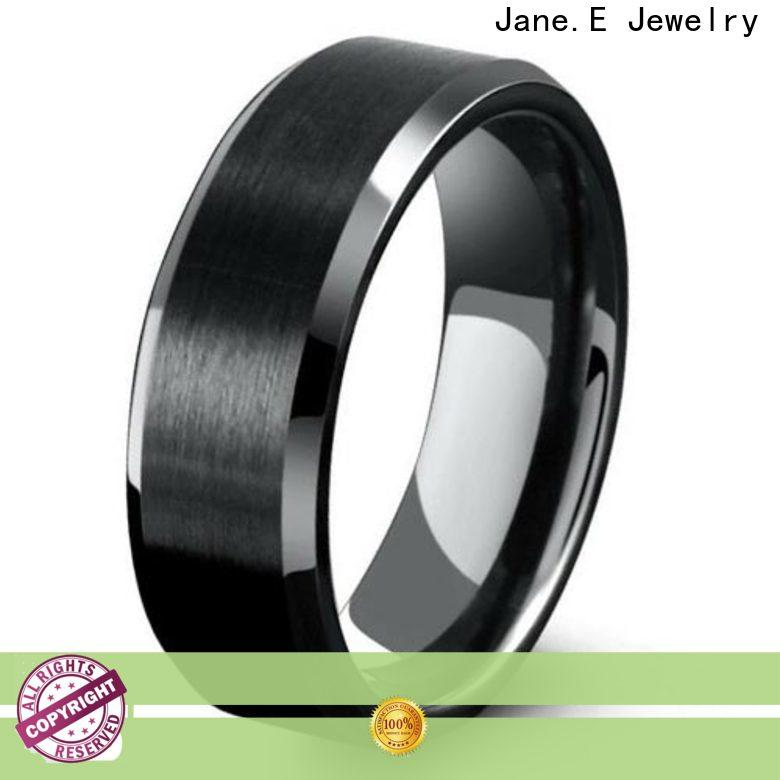 multi colors 6mm tungsten men's wedding band meteorite engraved for engagement