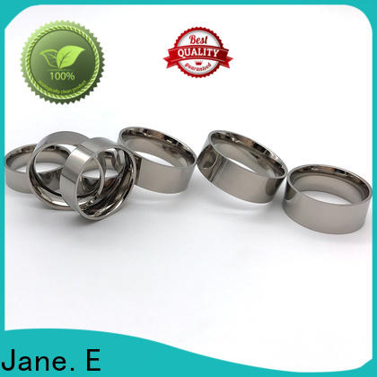 JaneE high quality black ceramic ring all size for gift