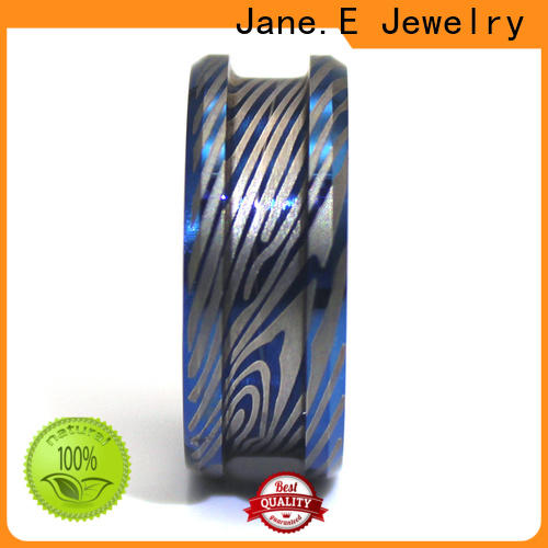 JaneE high quality titanium ring cores popular design for handcrafts works
