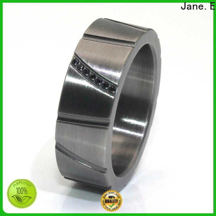 JaneE customized stainless steel ring core fashion design for decoration
