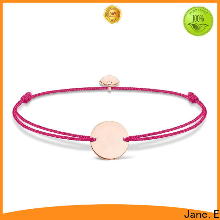 JaneE heart shape rope bracelet womens high quality for women