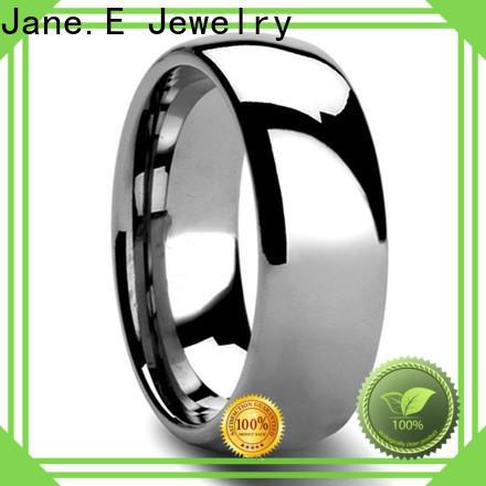 multi colors tungsten carbide ring price two tones matt for gift