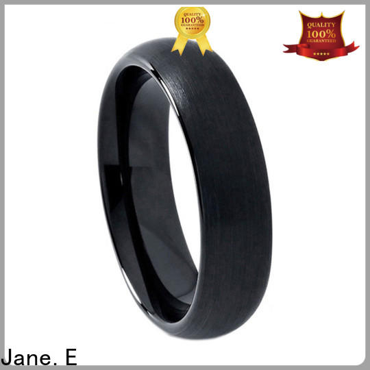 traditional tungsten band damascus texture exquisite for wedding