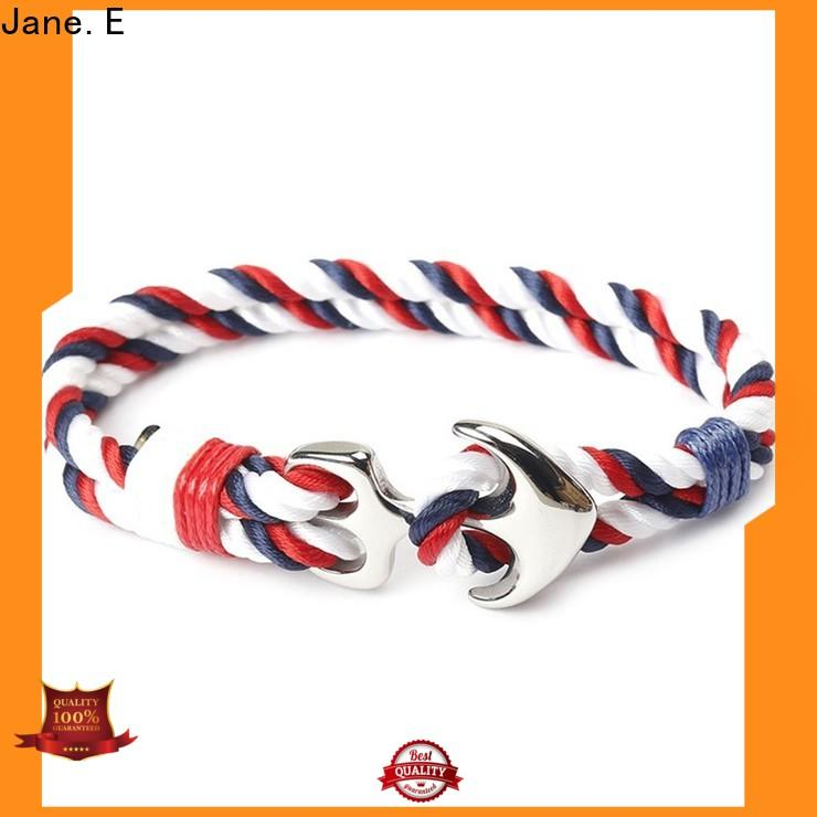 JaneE high quality satin mens rope bracelets exquisite for women