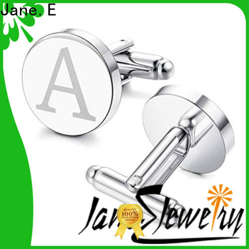 personalised cufflinks and studs logo name supplier