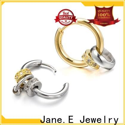 JaneE multi beads cuff earrings comfortable for decoration