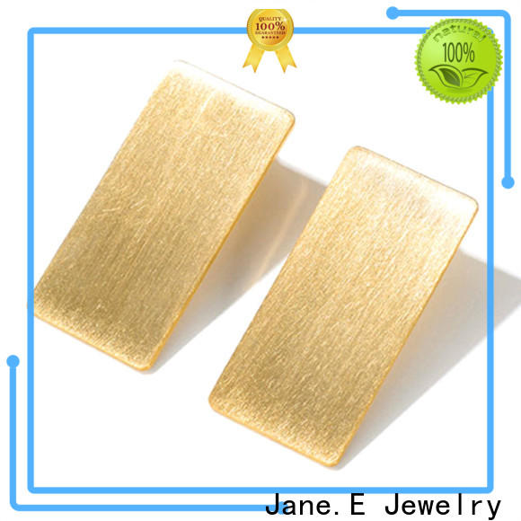 JaneE rainbow mens titanium hoop earrings hot selling for gift