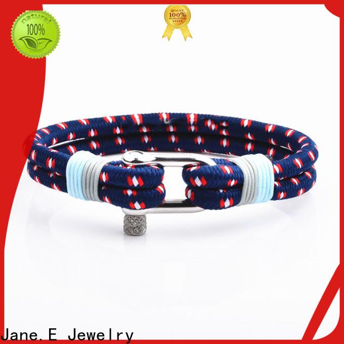 JaneE adjustable rope bracelet womens exquisite for anniversary