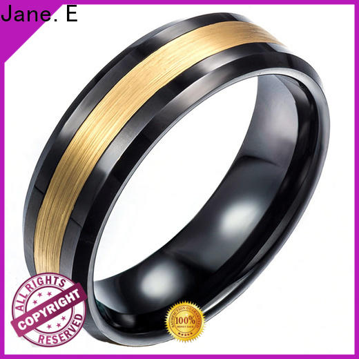 unique design custom tungsten ring inlay brushed exquisite for gift