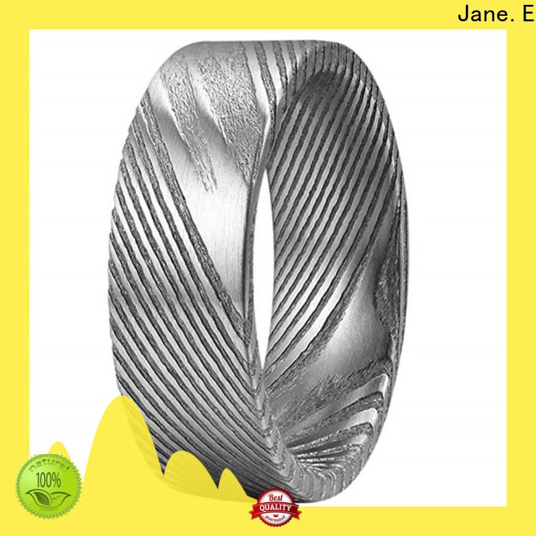 sparkle custom rings sandblasting waterproof for men