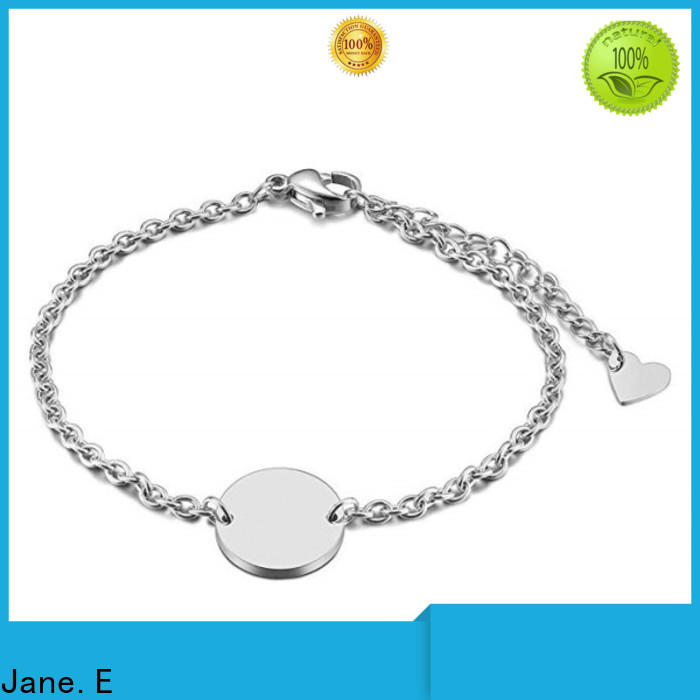 JaneE women's stainless steel bracelets wholesale for women