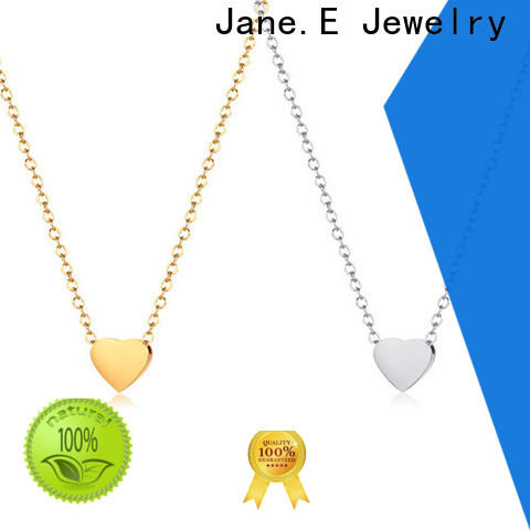JaneE classic stainless steel diffuser necklace factory direct for gift