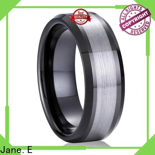 multi colors tungsten carbide ring damascus texture matt for gift