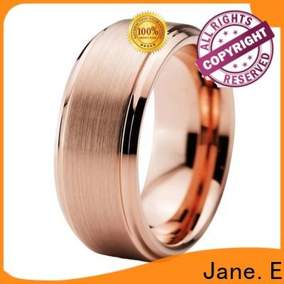 unique design tungsten rings for women red opal exquisite for engagement