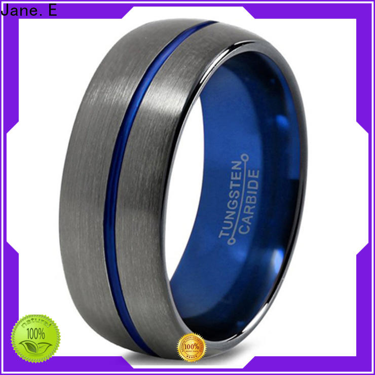 JaneE multi colors tungsten engagement rings for her exquisite for gift